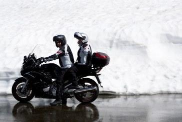 Faire de la moto en hiver?
