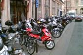 Une place de parking pour votre moto