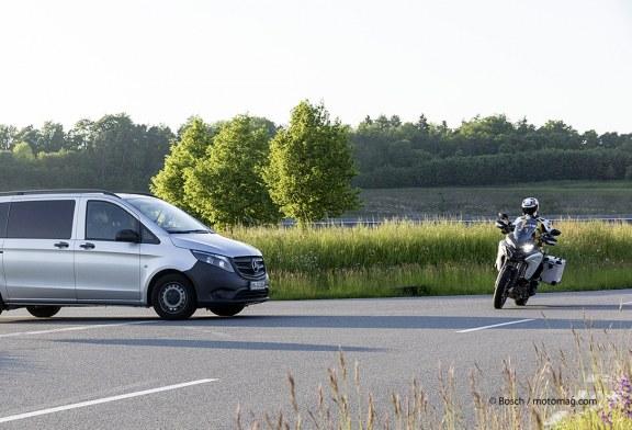 Bosch : Lancement du système de connectivité entre moto et voiture