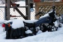 Où garer sa moto en hiver ?